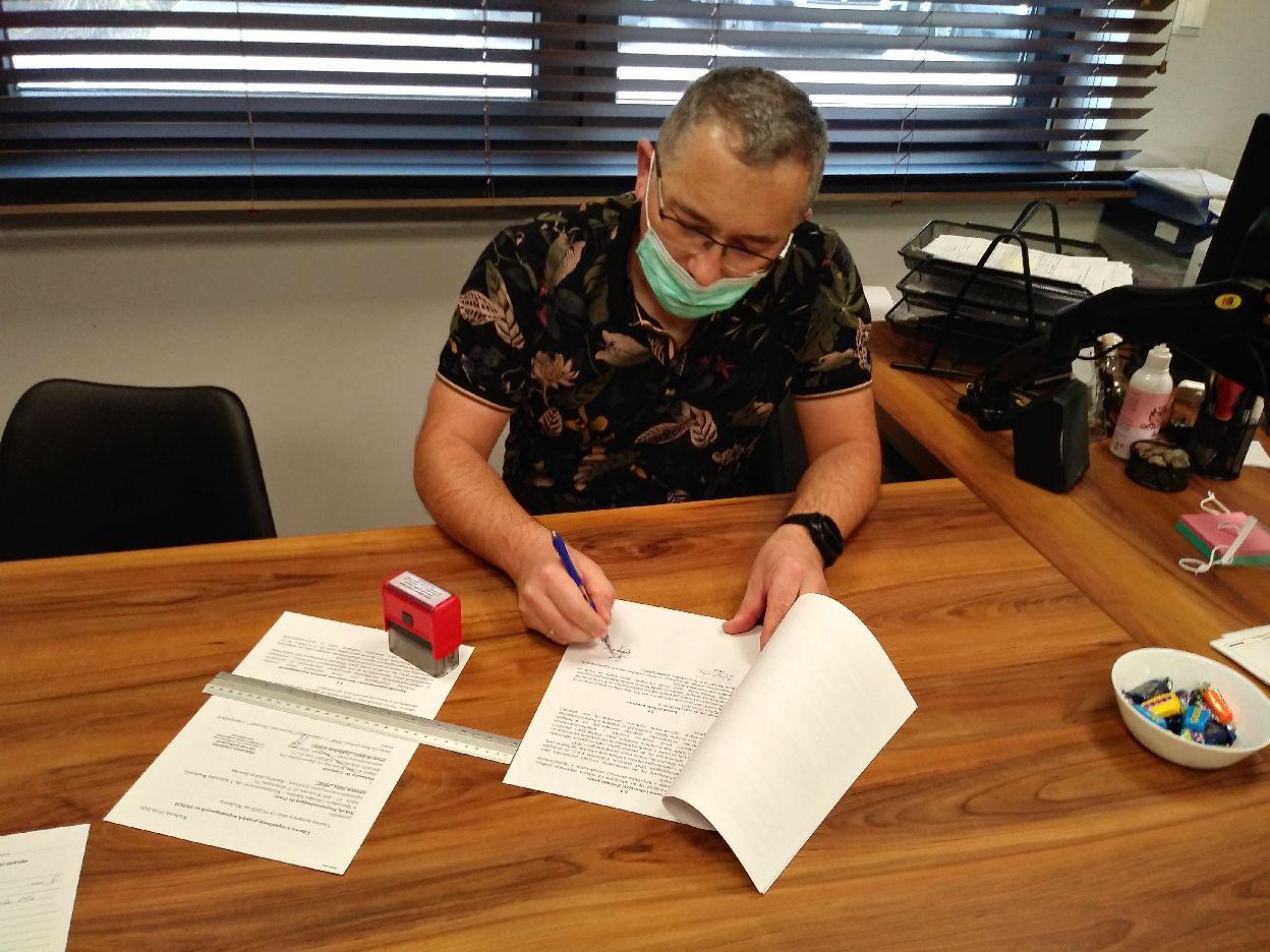 Umowy o praktyki wspomagane podpisane