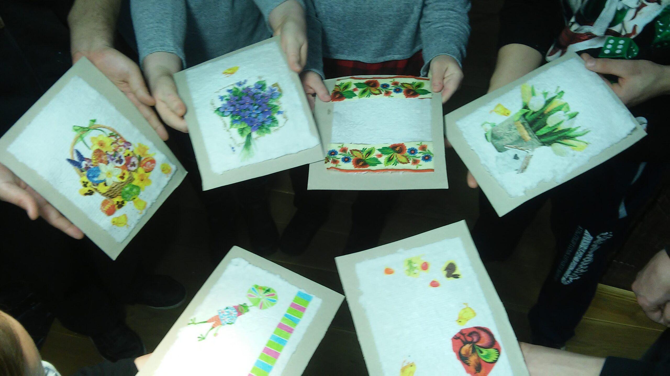 Czerpiemy papier i radość