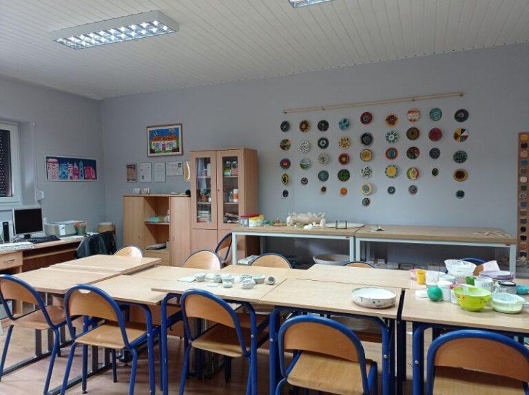 """Modernizacja pomieszczeń w Przedszkolu Specjalnym """"Kraina Tęczy"""" w SOSW we Wschowie"""